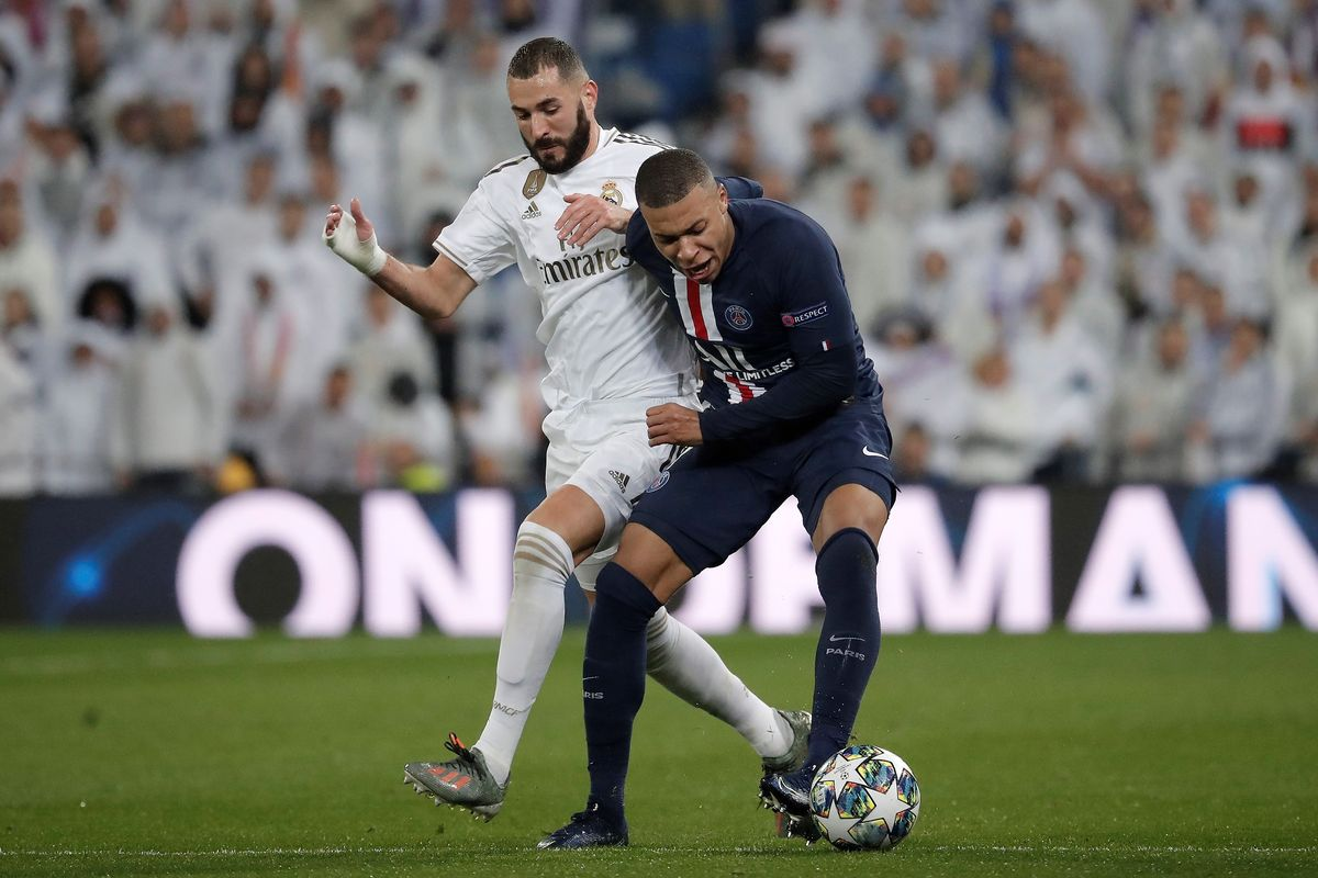 UEFA Champions League: PSG equals Real Madrid record score ...